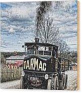 Tarmac Steam Wagon 1 Wood Print