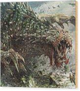 Tarmogoyf Reprint Wood Print