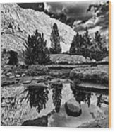 Tarn Reflection Wood Print
