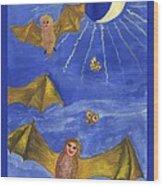 Tarot 18 The Moon Wood Print