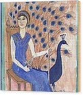 Tarot 2 Juno Wood Print