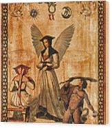 Tarot Card Judgement Wood Print