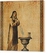 Tarot Card Temperance  Wood Print