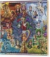 Tarot Of Dreams Wood Print