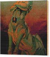 Tarot The Chariot Wood Print by Eric Bakke
