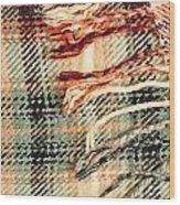 Tartan Scarf Wood Print