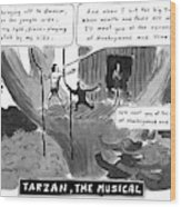 Tarzan The Musical Wood Print