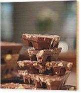 Tasty Chocolate Wood Print