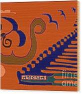 Tathadadhana Wood Print by Meenal C
