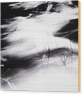 Tathata #000001 Wood Print by Alex Zhul