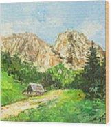 Tatry Giewont - Poland Wood Print