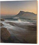 Tavolara Island Wood Print