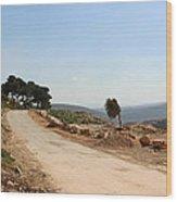 Taybeh Side Road Wood Print