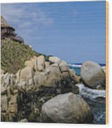 Tayrona National Park Wood Print