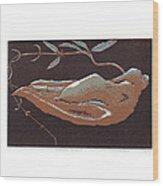 Tchaba Plant Wood Print