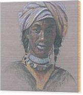 Tchad Warrior Wood Print