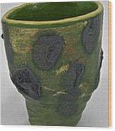 Tea Bowl #12 Wood Print