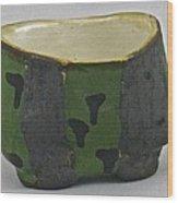 Tea Bowl #13 Wood Print