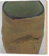 Tea Bowl #18 Wood Print
