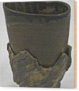 Tea Bowl #19 Wood Print