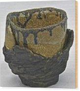 Tea Bowl #21 Wood Print