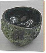 Tea Bowl #5 Wood Print
