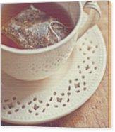 tea Wood Print