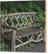 Tea Time Wood Print