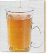 Tea With Honey Wood Print
