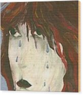 Tear Wood Print