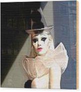 Tears Of A Clown Wood Print