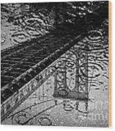 Tears Of New York Wood Print
