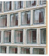 Technocratic Windows Wood Print