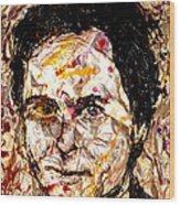 Ted Bundy Electric Wood Print