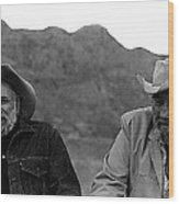 Ted Degrazia And Broderick Crawford Gallery In The Sun Tucson Arizona 3-1969-2009   Wood Print