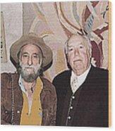Ted Degrazia Cinematographer Lee Garmes Gallery In The Sun Tucson Arizona No Date-2013 Wood Print