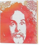 Ted Nugent Cat Scratch Fever Wood Print