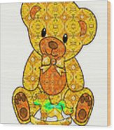Teddy And Friend Wood Print