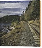Teddy Bear Cove Railway Wood Print