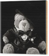 Teddy Bear Groom Wood Print by Edward Fielding