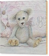 Teddy Friend Wood Print