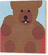 Teddy Snapshot Wood Print
