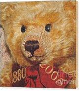 Teddy's Anniversary Wood Print