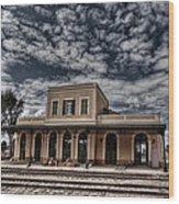 Tel Aviv First Railway Station Wood Print by Ron Shoshani