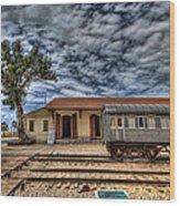 Tel Aviv Old Railway Station Wood Print