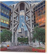 Tel Aviv Performing Arts Center Wood Print