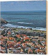 Tel Aviv Spring Time Wood Print