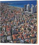 Tel Aviv - The First Neighboorhoods Wood Print