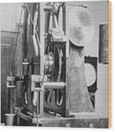 Telescope Clock, Sydney Observatory Wood Print by Science Photo Library