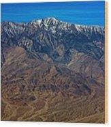 Telescope Peak Wood Print